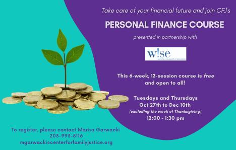 Moneywise Finance course